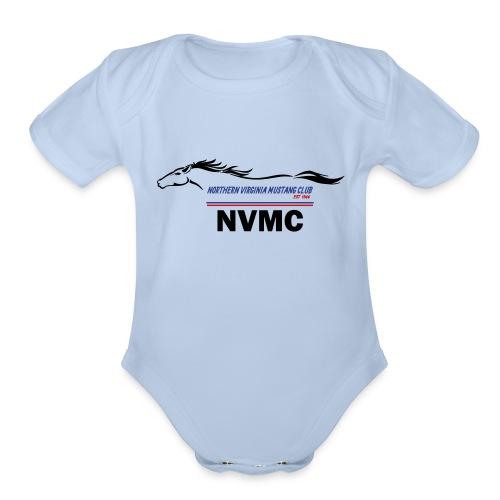 Color logo - Organic Short Sleeve Baby Bodysuit