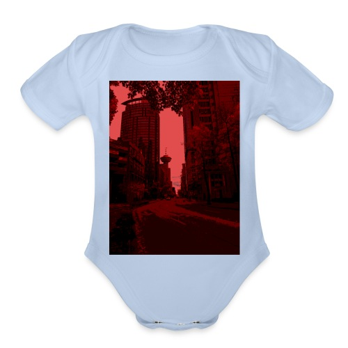 Bloody Vancouver - Organic Short Sleeve Baby Bodysuit