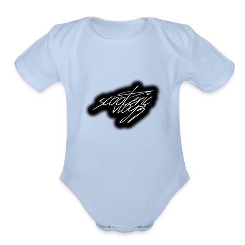 sv signature - Organic Short Sleeve Baby Bodysuit