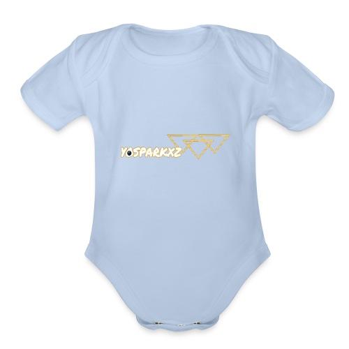 yosparkxz - Organic Short Sleeve Baby Bodysuit
