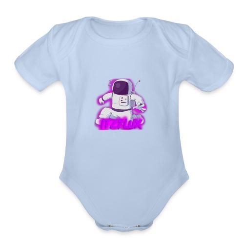 iTzFluX Brand Logo - Organic Short Sleeve Baby Bodysuit