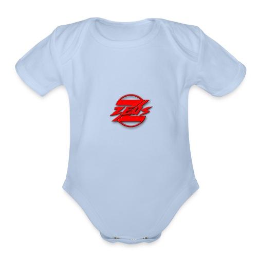 1s design - Organic Short Sleeve Baby Bodysuit