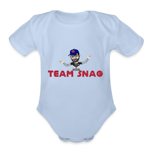 Team Snag Shirt - Organic Short Sleeve Baby Bodysuit