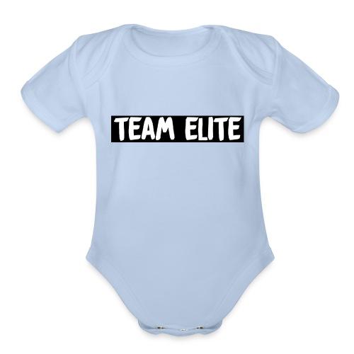 TEAM ELITE - Organic Short Sleeve Baby Bodysuit