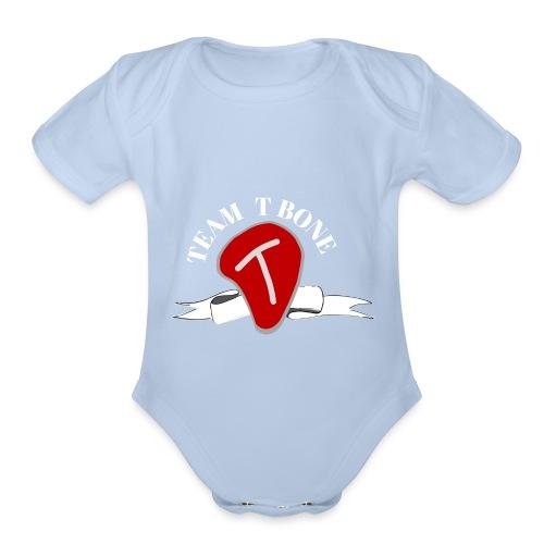 Tbone 3 - Organic Short Sleeve Baby Bodysuit