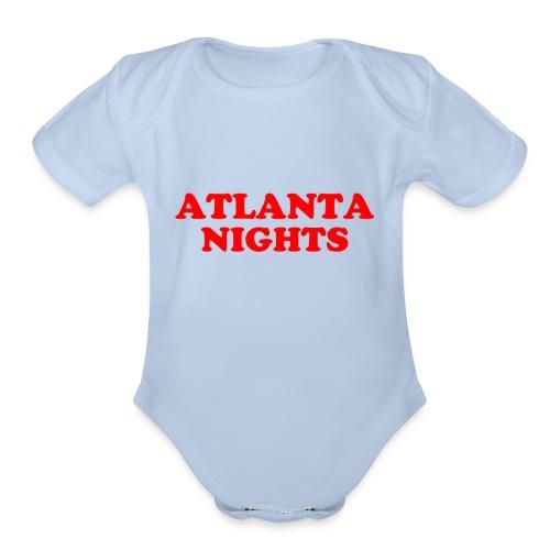 ATL NIGHTS - Organic Short Sleeve Baby Bodysuit