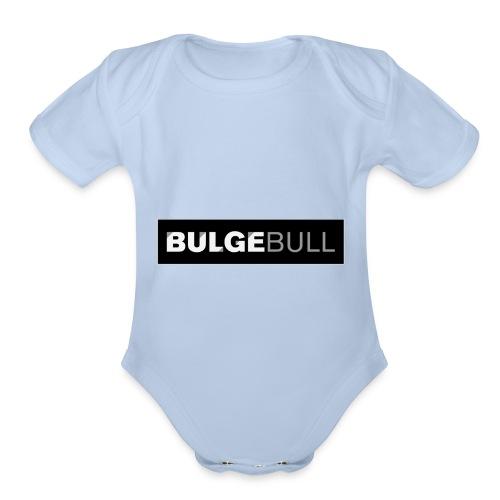 BULGEBULL TAGG - Organic Short Sleeve Baby Bodysuit