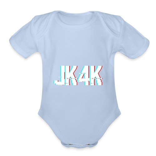 Glitch JK4K - Organic Short Sleeve Baby Bodysuit