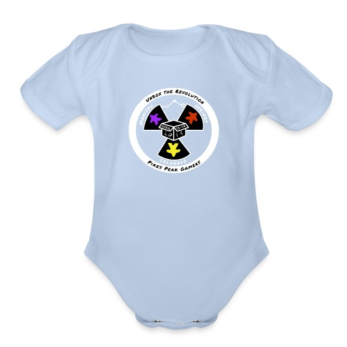 Pikes Peak Gamers Convention 2019 - Clothing - Organic Short Sleeve Baby Bodysuit