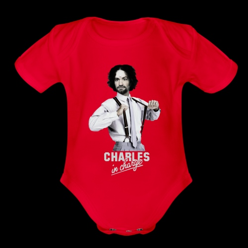 CHARLEY IN CHARGE - Organic Short Sleeve Baby Bodysuit