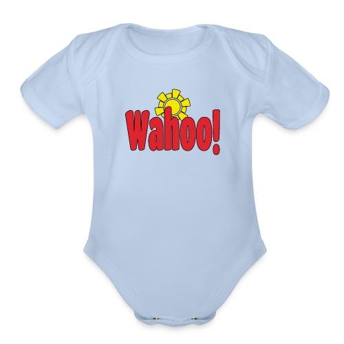 Wahoo! - Organic Short Sleeve Baby Bodysuit