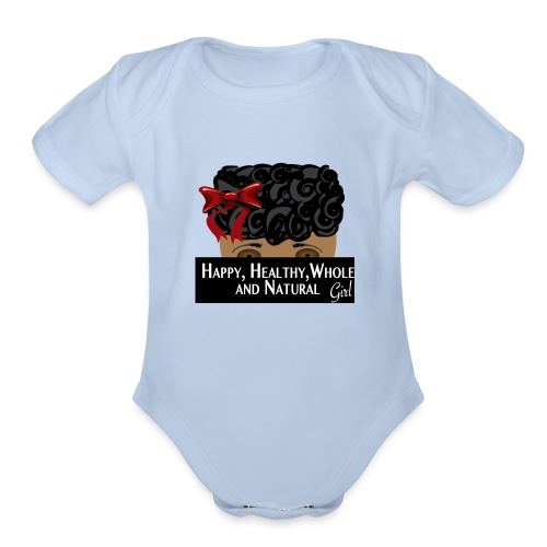 wholehealthtee_br_girl.png - Organic Short Sleeve Baby Bodysuit