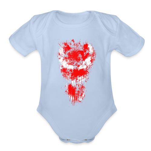 Venom Carnage - Organic Short Sleeve Baby Bodysuit