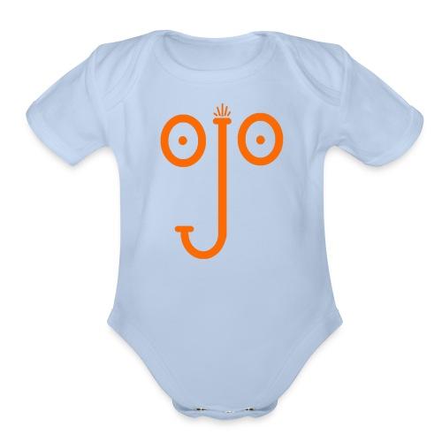 ojo - Organic Short Sleeve Baby Bodysuit