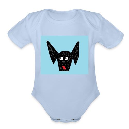 narla - Organic Short Sleeve Baby Bodysuit