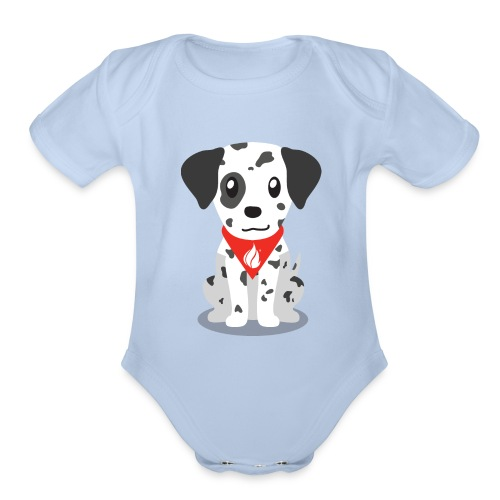 Sparky the FHIR Dog - Children's Merchandise - Organic Short Sleeve Baby Bodysuit