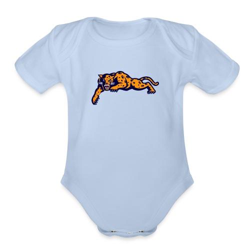 Jaguar - Organic Short Sleeve Baby Bodysuit