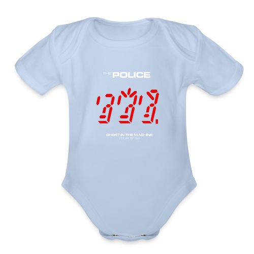Ghost in the Machine - Organic Short Sleeve Baby Bodysuit