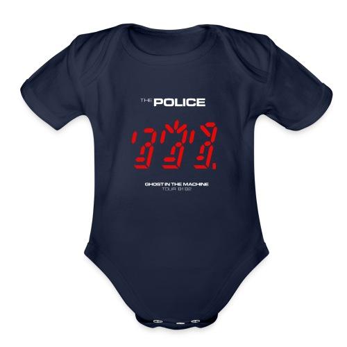 Ghost in the Machine - Organic Short Sleeve Baby Bodysuit