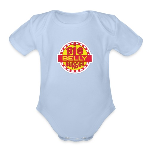Big Belly Burger - Organic Short Sleeve Baby Bodysuit