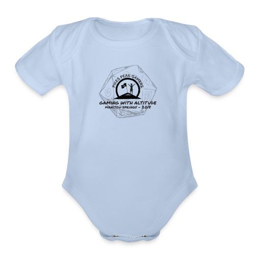 Pikes Peak Gamers Convention 2018 - Clothing - Organic Short Sleeve Baby Bodysuit