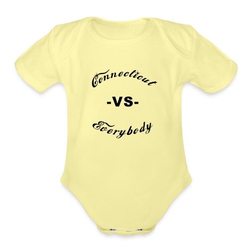 cutboy - Organic Short Sleeve Baby Bodysuit