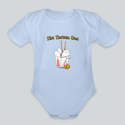 The Tsosen One - Organic Short Sleeve Baby Bodysuit