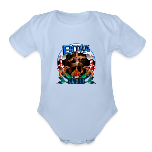 BOTOX MATINEE SAILOR T-SHIRT - Organic Short Sleeve Baby Bodysuit