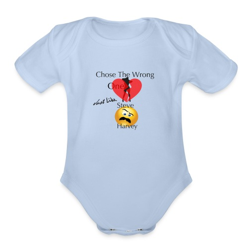 The Wrong One - Organic Short Sleeve Baby Bodysuit