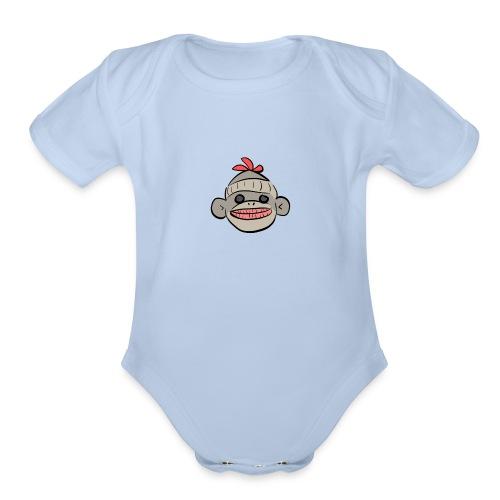 Zanz - Organic Short Sleeve Baby Bodysuit