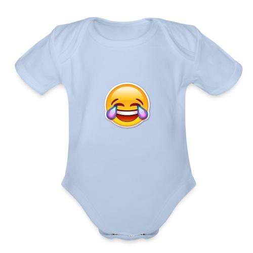 XD - Organic Short Sleeve Baby Bodysuit