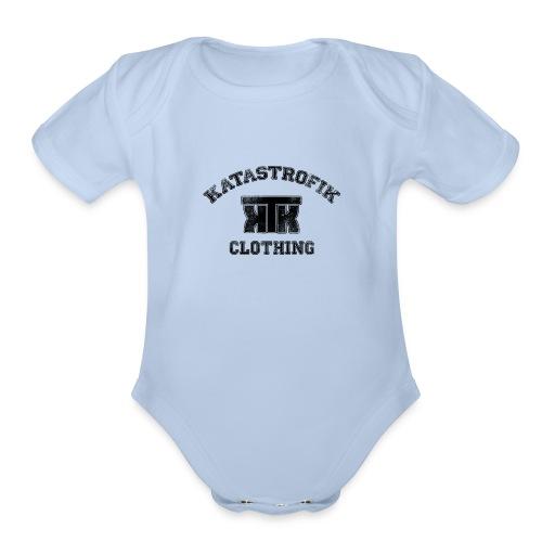 Katastrofik-used - Organic Short Sleeve Baby Bodysuit