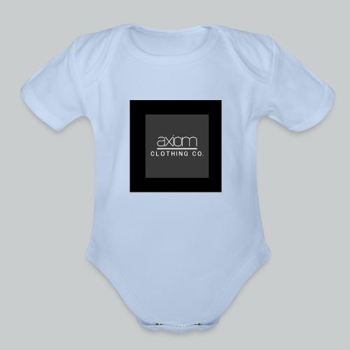 axiom - Organic Short Sleeve Baby Bodysuit