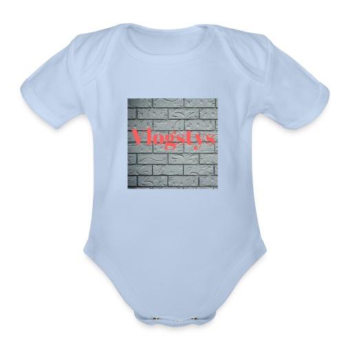 Volgstys - Organic Short Sleeve Baby Bodysuit