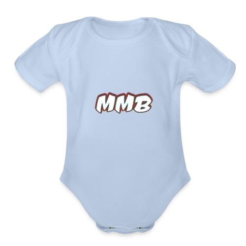 MMB - Organic Short Sleeve Baby Bodysuit