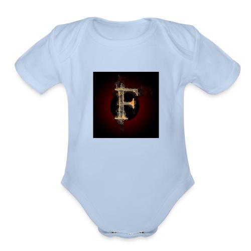 fofire gaming/entertainment - Organic Short Sleeve Baby Bodysuit
