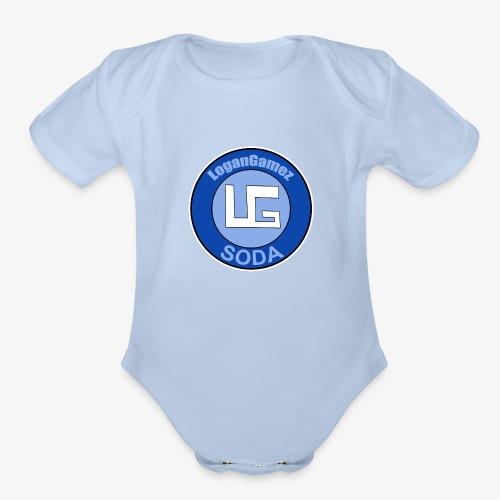 LoganGames - Organic Short Sleeve Baby Bodysuit