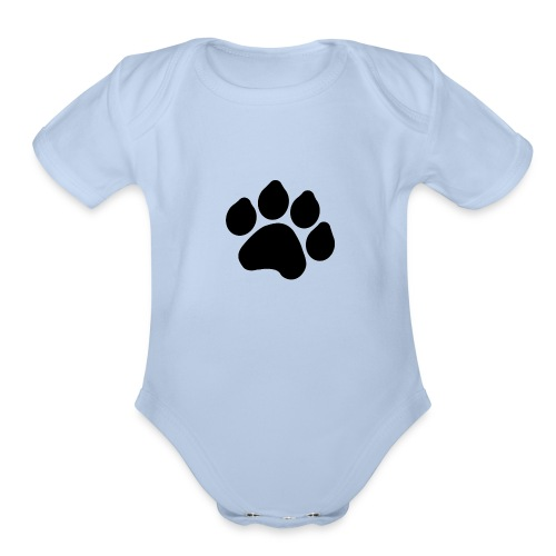 Black Paw Stuff - Organic Short Sleeve Baby Bodysuit