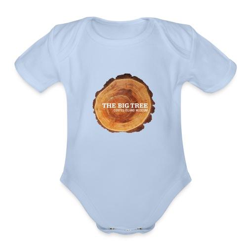 The Big Tree - Organic Short Sleeve Baby Bodysuit