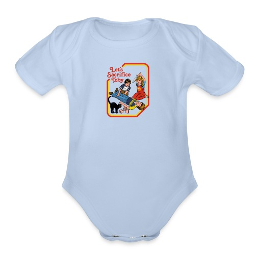 Let's Make Brownies - Organic Short Sleeve Baby Bodysuit