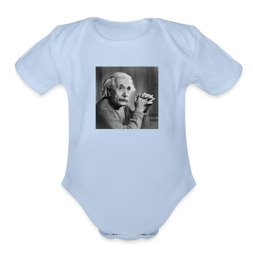 Albert Einstein - Organic Short Sleeve Baby Bodysuit