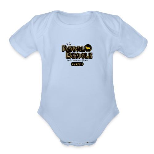 The Regal Beagle Three S Company - Organic Short Sleeve Baby Bodysuit