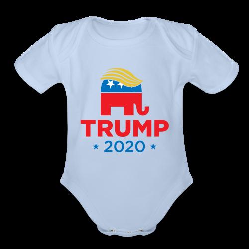 Trump 2020 - Organic Short Sleeve Baby Bodysuit