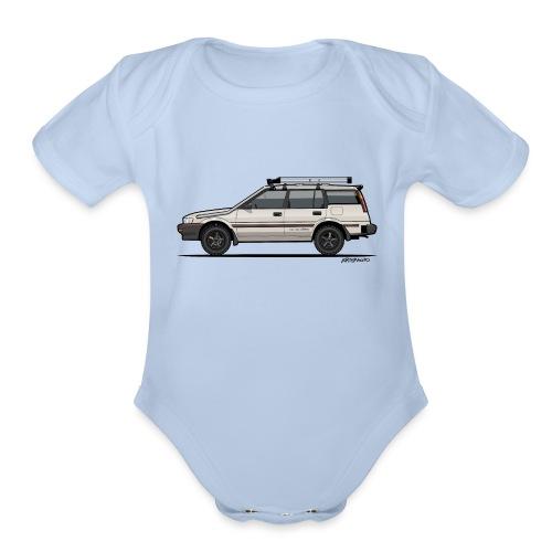 Ayota AE95 4WD Wagon - Organic Short Sleeve Baby Bodysuit