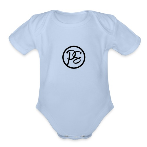 Pursue Brand Baseball Tee - Organic Short Sleeve Baby Bodysuit