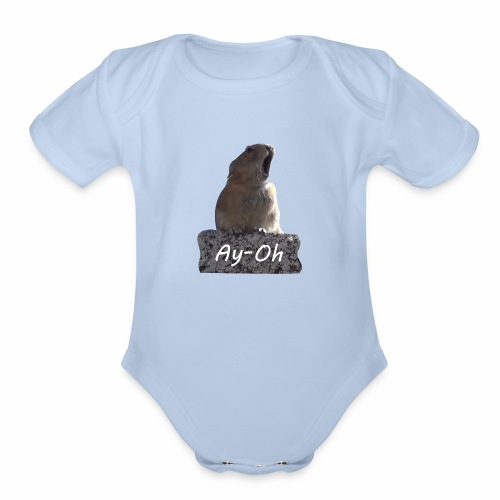Ay-Oh - Queen (Live Aid) - Organic Short Sleeve Baby Bodysuit
