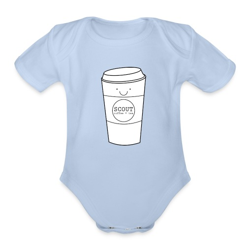 Happy Cup - Organic Short Sleeve Baby Bodysuit