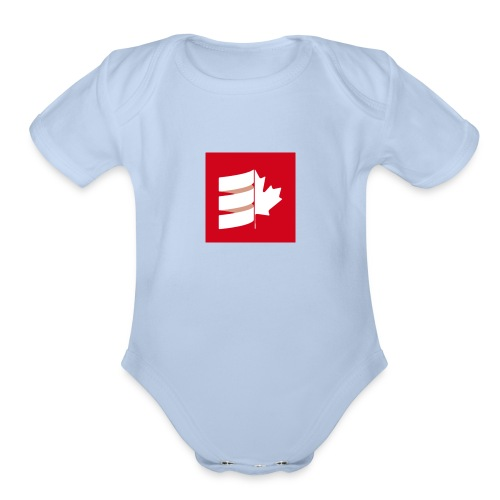 Scala Up North - Organic Short Sleeve Baby Bodysuit