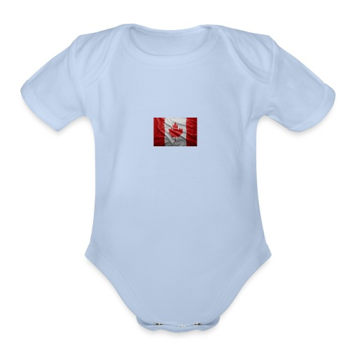 images_-2- - Organic Short Sleeve Baby Bodysuit
