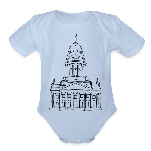 French Cathedral Berlin - Organic Short Sleeve Baby Bodysuit
